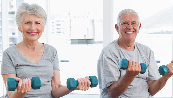 exercising with partners